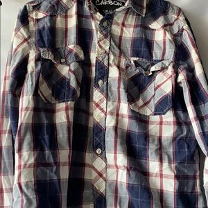Carbon Men's Flannel size Small